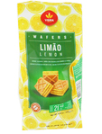 Vieira De Castro Wafer Bites Lemon 125g