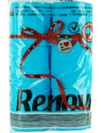 Renova Toilet Roll Blue X6