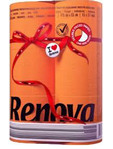 Renova Toilet Roll Orange X6