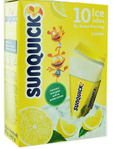 Sunquick Ice Lollies Lemon X10