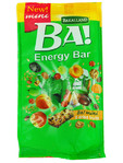 Bakalland Ba Energy Bar 5 Dried Fruits 150gr