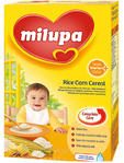 Milupa Rice Corn Cereal 250gr