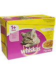Whiskas Poultry Selection Box 12x100g