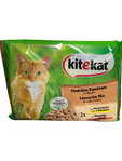 Kitekat Hunt Menu Pouch Mix X4 100gr