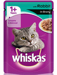 Whiskas Pouch Rabbit With White Sauce 100g