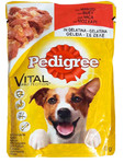 Pedigree Pouches Beef In Jelly 100g