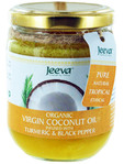 Jeeva Coconut Oil With Tumeric & Black Pepper 200ml