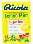 Ricola Lemon Mint Herbal Sweets 45g