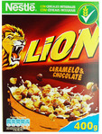 Lion Caramelo & Chocolate Cereal 400g