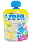 Nestle Mio Frutta & Yogurt Banana 90g