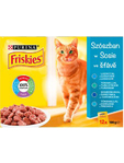 Friskies Cat Food Pouches Salmon 12x100g