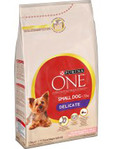 Purina One Small Dog Delicate Salmon & Rice 1.5kg