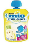 Nestle Mio Pouches Yogurt Apple Pear 90g