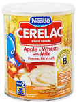 Nestle Cerelac Apple & Wheat With Milk 400