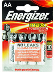 Energizer Max Power Seal Aa X4