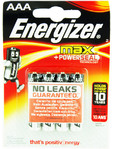 Energizer Max Power Seal Aaa X4