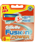 Gillette Fusion Power Cartridges Xl Pack X8