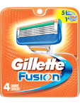 Gillette Fusion Cartridges X4