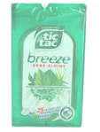 Tictac Breeze Erbe Alpine Sugar Free X25