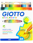 Giotto Coloured Pencils X24