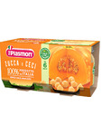 Plasmon Strained Pumpkin & Chickpeas X2