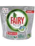 Fairy Platinum All In One Dishwasher Capsules X18