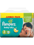 Pampers Baby Dry 3 Midi X90