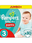 Pampers Baby Dry Pants 3 X80