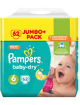 Pampers Baby Dry 6 X62