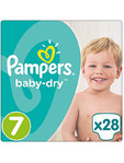 Pampers Baby Dry 7 X72