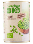 Carrefour Bio Piselli Lattina 270g