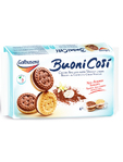 Galbusera Buoni Cosi Cocoa Biscuits With Vanilla Cream 160g