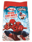 Zaini Spiderman Mini Creamy Chocolates 122g