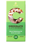 Icam Milk Chocolate With Hazelnuts 100gr