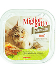 Miglior Gatto Sterilized Wet Food With Chicken Lamb & Veg 100g