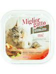 Miglior Gatto Sterilized Wet Food With Beef Liver & Carrots 100g