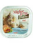 Miglior Gatto Strilized Wet Food With Fish & Shrimps 100g