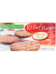 Amica Natura Beef Burgers Family Pack X10 750g
