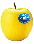 Apples Golden Delicious Marlene + Silicon Muffin Form