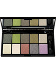 Nyx Eye Shadow Palette 10 Colours - Beautiful Green Eyes