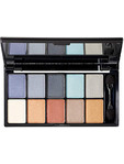 Nyx Eye Shadow Palette 10 Colours - Sexy Blue Eyes