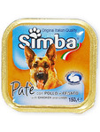 Simba Dog Pate Chicken & Liver 150g