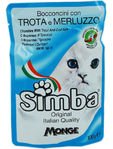 Simba Cat Pouch Trout & Cod 100g