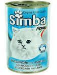 Simba Cat Chunkies With Lamb 415g