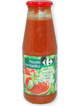 Carrefour Tomato And Basil Puree 700gr