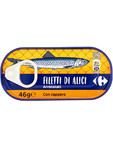 Carrefour Filetti Alici C/capperi 46g