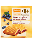 Carrefour Informa Barrette Mirtilli X6
