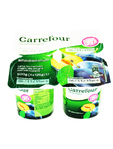 Carrefour Yogurt Prugna 01% Fat X4