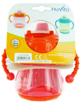 Nuvita Trainer Cup W/hard Spout Pink
