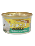 Gourmet Gold Salmon & Pollo 85g